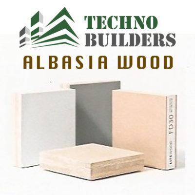 albasia wood logo